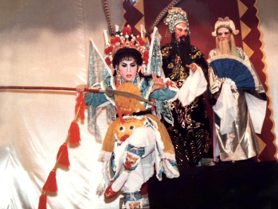 NSƯT Ngọc Nga trong vở Lưu Kim Đính giải giá thọ châu, 1993