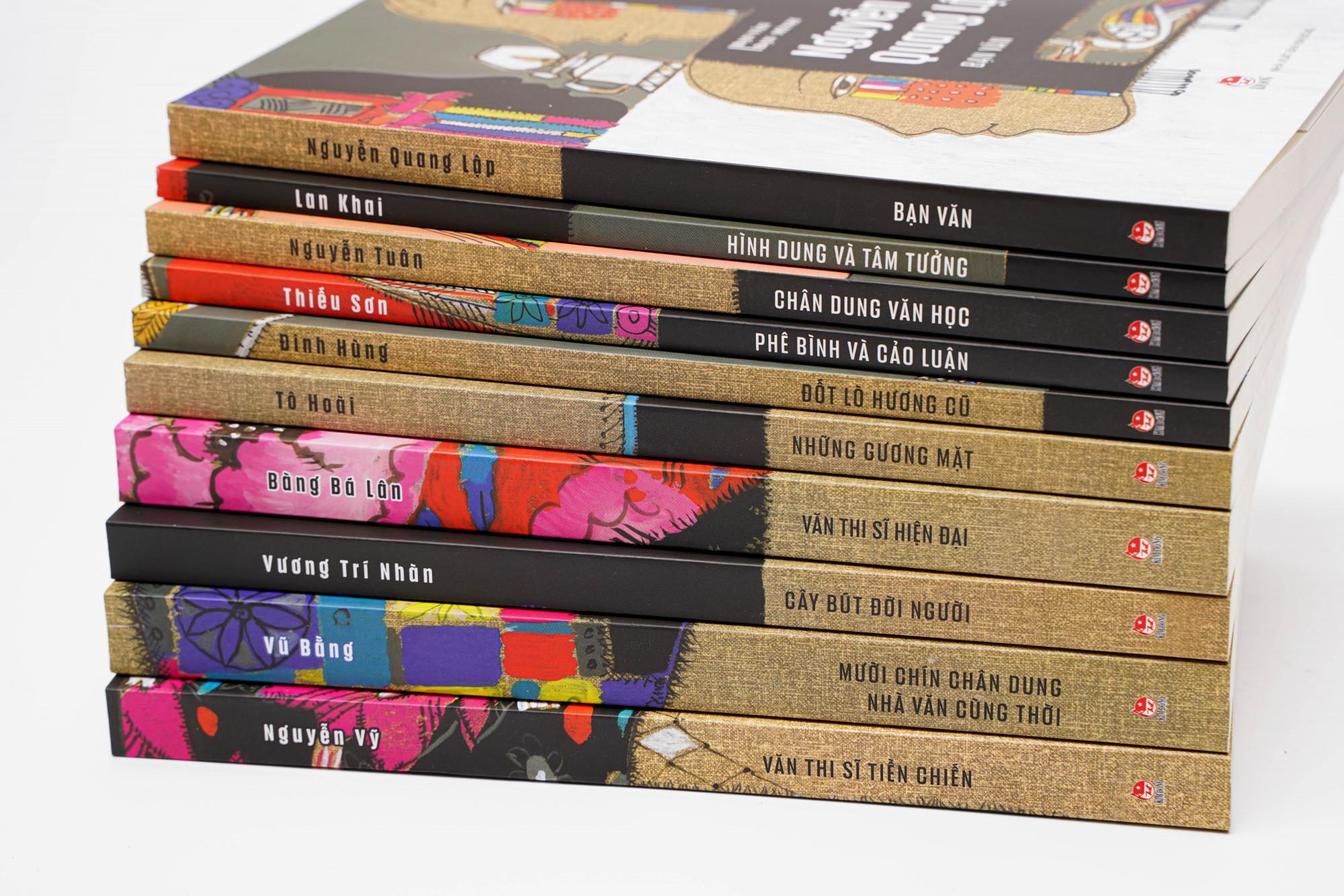 Bạn Văn Bạn Mình, tập hợp những cuốn sách chân dung văn học đặc sắc nhất của các nhà văn, nhà thơ nổi tiếng viết về những người bạn của mình