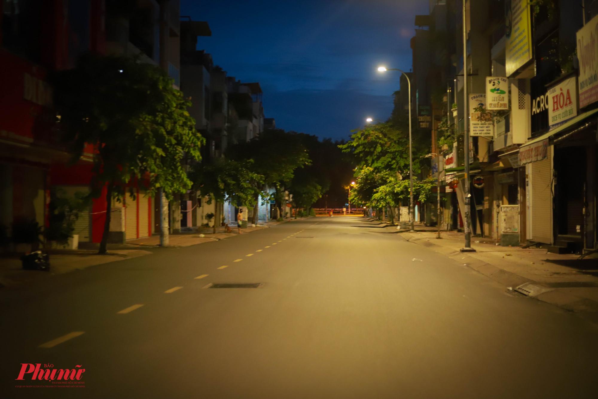 Một đoạn trên đường Nguyễn Đình Chiểu (Quận 3)