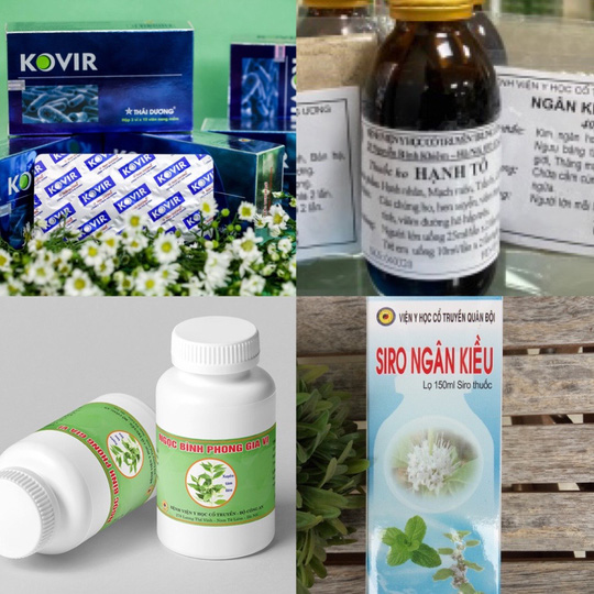 Bộ Y tế rút công vanq công bố 12 sản phẩm cổ truyền phòng và hỗ trợ điều trị COVID-19