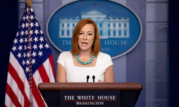 Thư ký báo chí Nhà Trắng Jen Psaki cho biết Mỹ sẽ giữ nguyên hạn chế đi lại quốc tế tại thời điểm này.