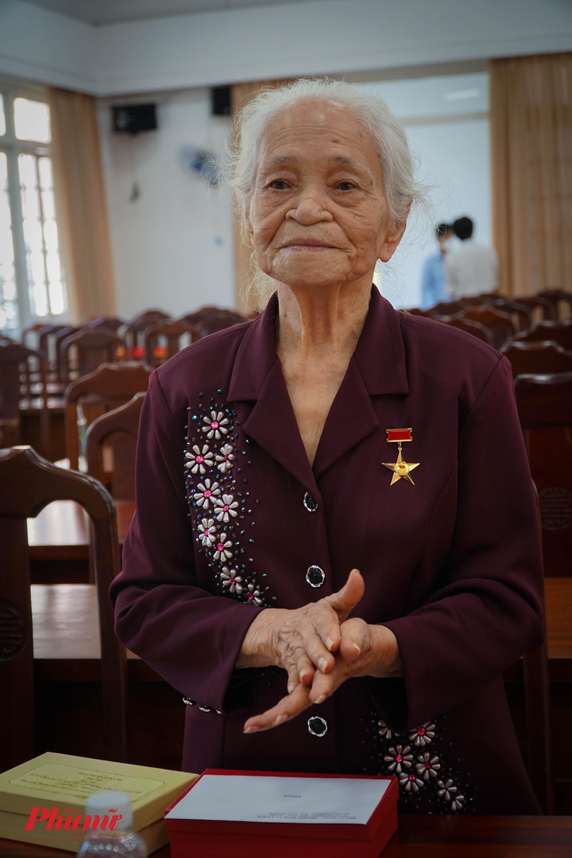 Mẹ VNAH Võ Thị Tuội có chồng là liệt sĩ Đào Văn Bạch, con là liệt sĩ Đào Văn Giêng