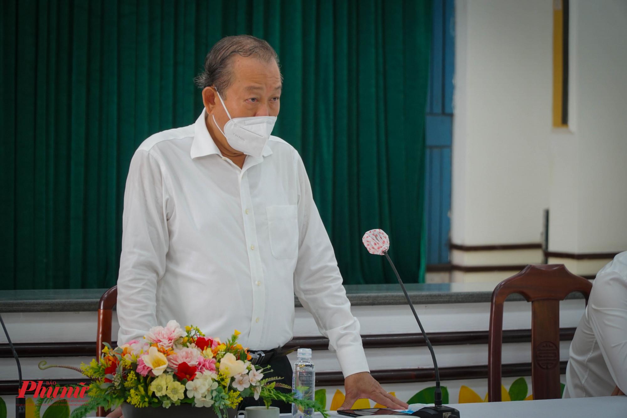 Phó Thủ tướng Thường trực chính phủ - Trương Hòa Bình