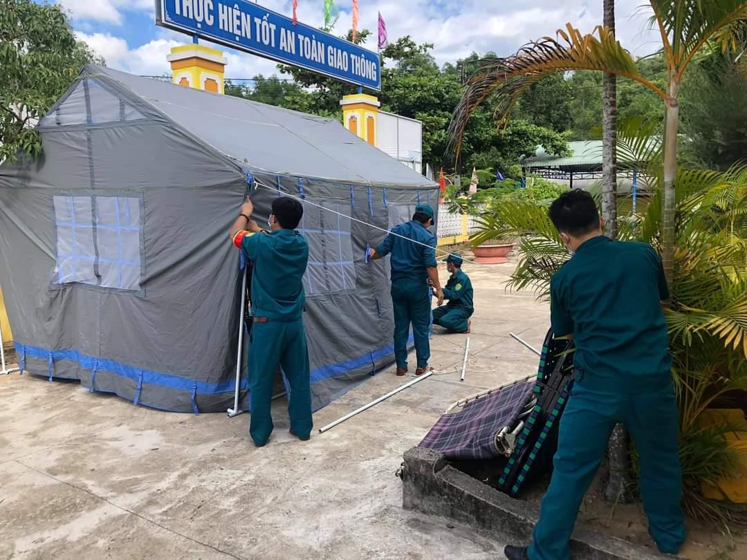 Huyện miền núi Đồng Xuân (Phú Yên) chuẩn bị cơ sở cách ly đón công nhân về từ vùng dịch