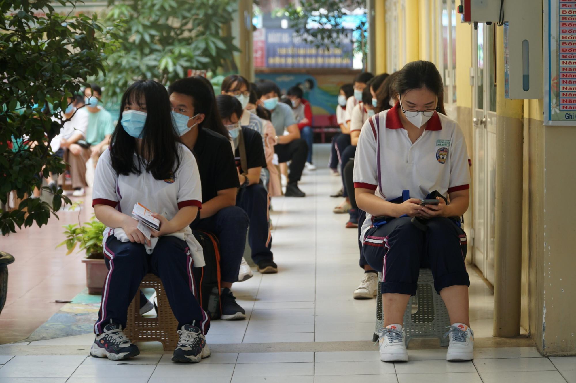 Thí sinh dự thi tốt nghiệp THPT - Ảnh: Tam Nguyên