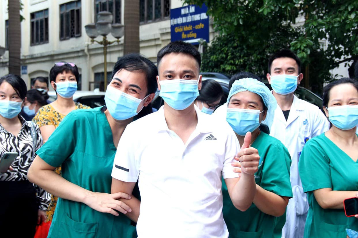 Các thầy thuốc của Bệnh viện Da liễu Trung ương