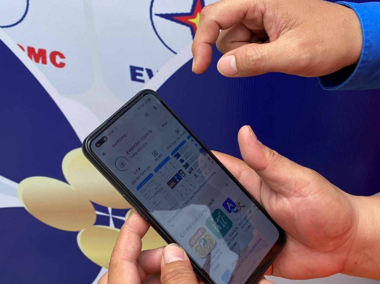 Chương trình cài App EVNHCMC CSKH trúng thưởng lên đến gần 1 tỷ đồng