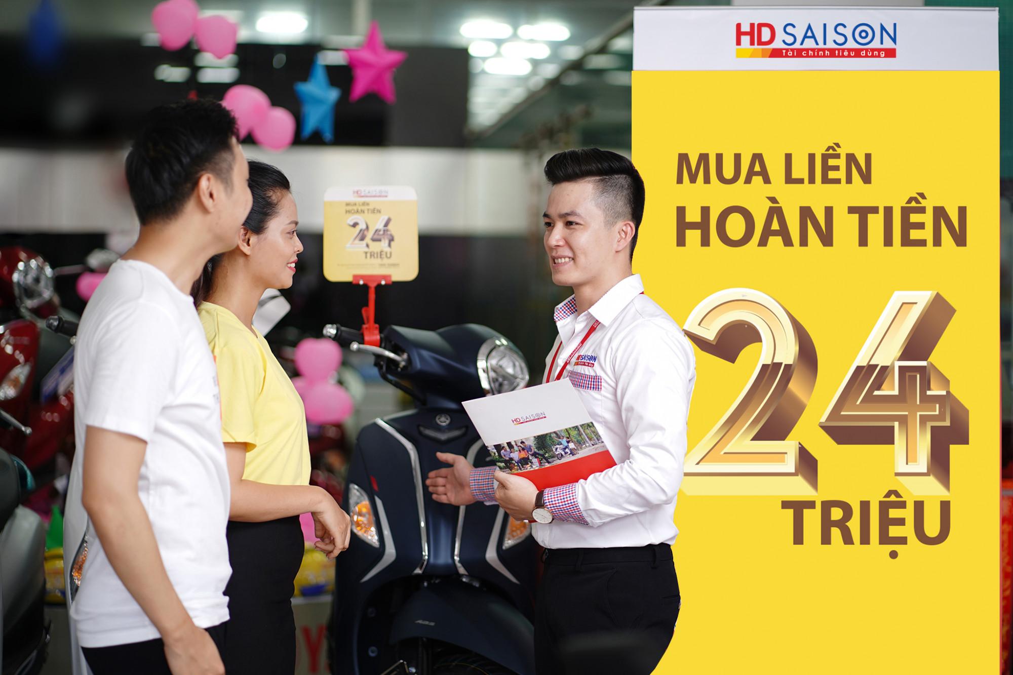 HD SAISON thỏa mãn nhu cầu của khách hàng bằng việc cung cấp đa dạng giải pháp tài chính - Ảnh: HD SAISON