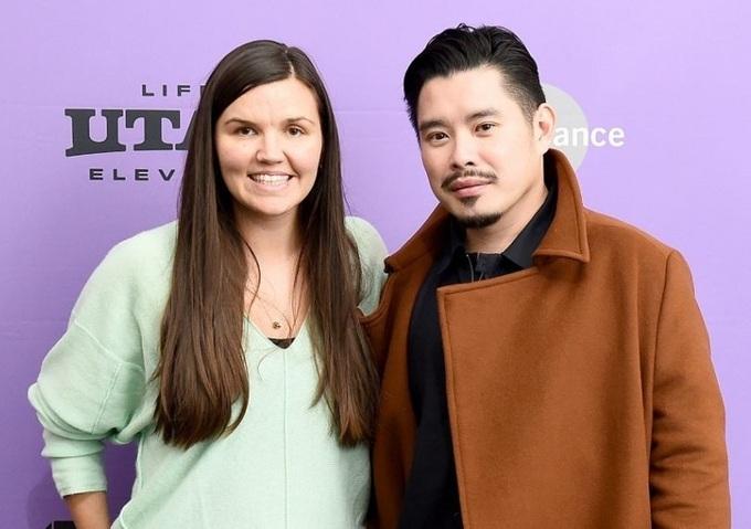 Đạo diễn Bảo Nguyễn (phải) và Julia Nottingham - NSX phim