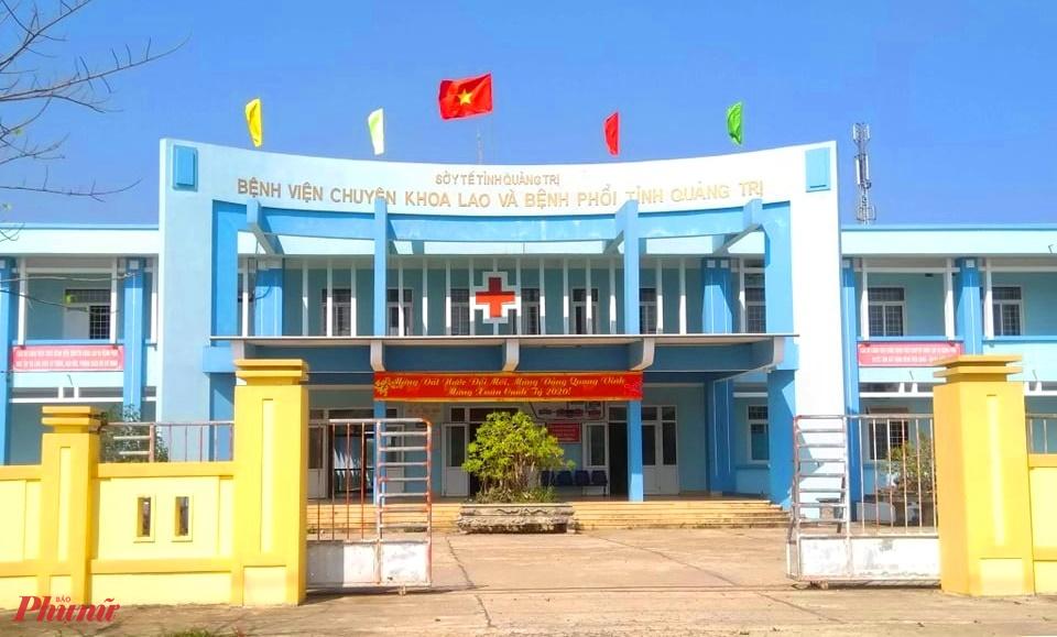 Bệnh viện Lao Phổi tỉnh Quảng Trị nơi chị T.T.N đang điều trị