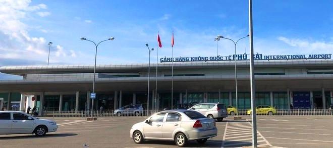 Một góc cảng hàng không quốc tế Phú Bài