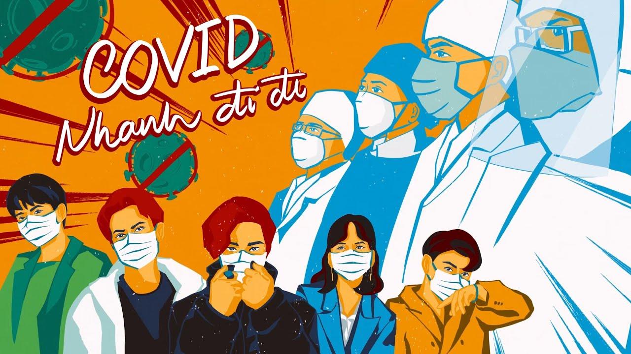 Trong gần 2 năm qua, nhiều ca khúc, tác phẩm với nội dung phòng chống dịch COVID-19 ra đời, lan toả sâu rộng trong người dân