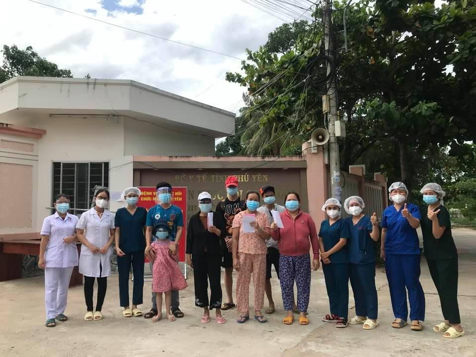 Bệnh nhân mắc COVID-19 ở Phú Yên được điệu trị khỏi, xuất viện.
