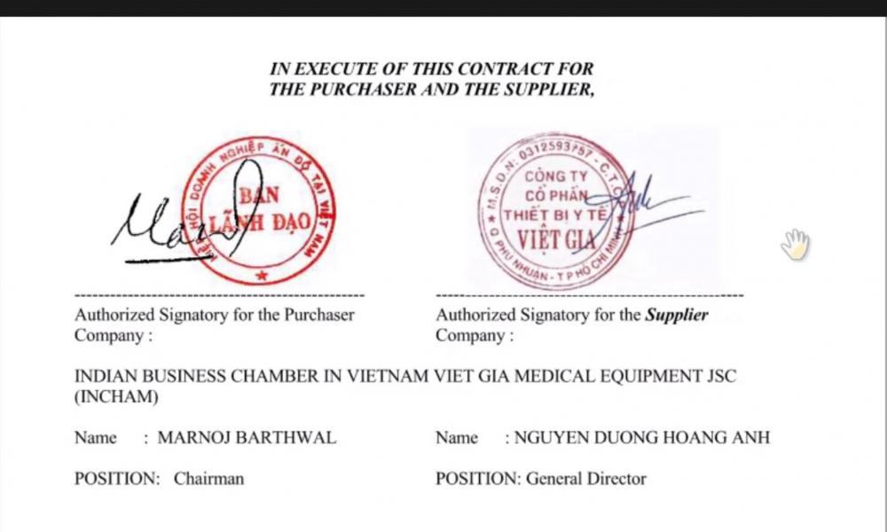 Hợp đồng được ký kết, máy ECMO sẽ sớm được nhập từ Đức về Việt Nam.