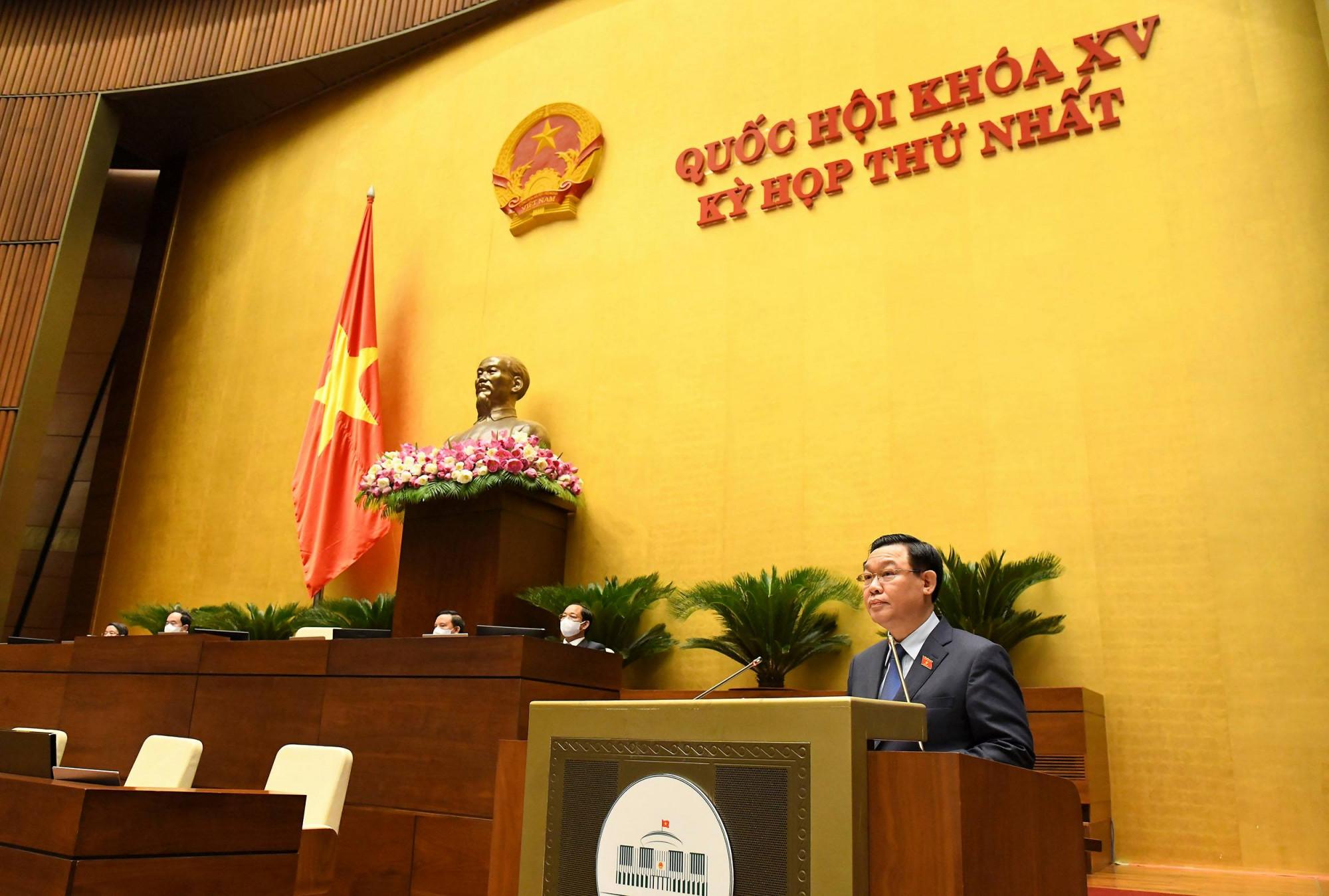 Kỳ họp lần thứ nhất, Quốc hội khóa XV thông qua nhiều nghị quyết quan trọng