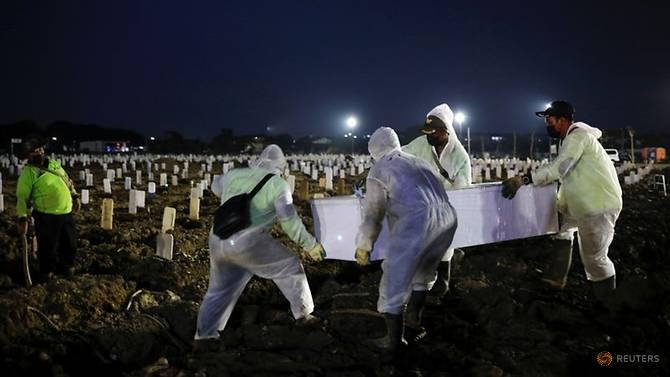 Số người chết vì COVID-19 tiếp tục tăng cao tại Indonesia.