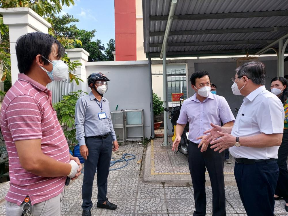 Chủ tịch UBND TPHCM Nguyễn Thành Phong cam kết thực hiện hiệu quả vai trò đại biểu của nhân dân nếu được tín nhiệm tái đắc cử đại biểu HDDND TPHCM nhiệm kỳ mới.