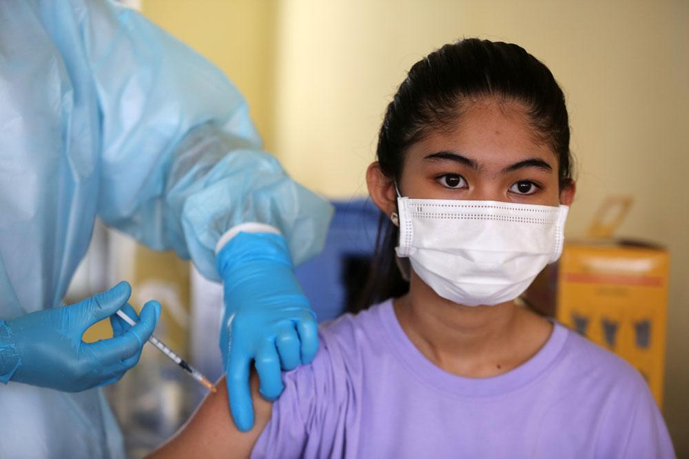 Ước tính, khoảng 2 triệu trẻ em ở Campuchia sẽ được tiêm vaccine ngừa COVID-19 trong chiến dịch lần này.