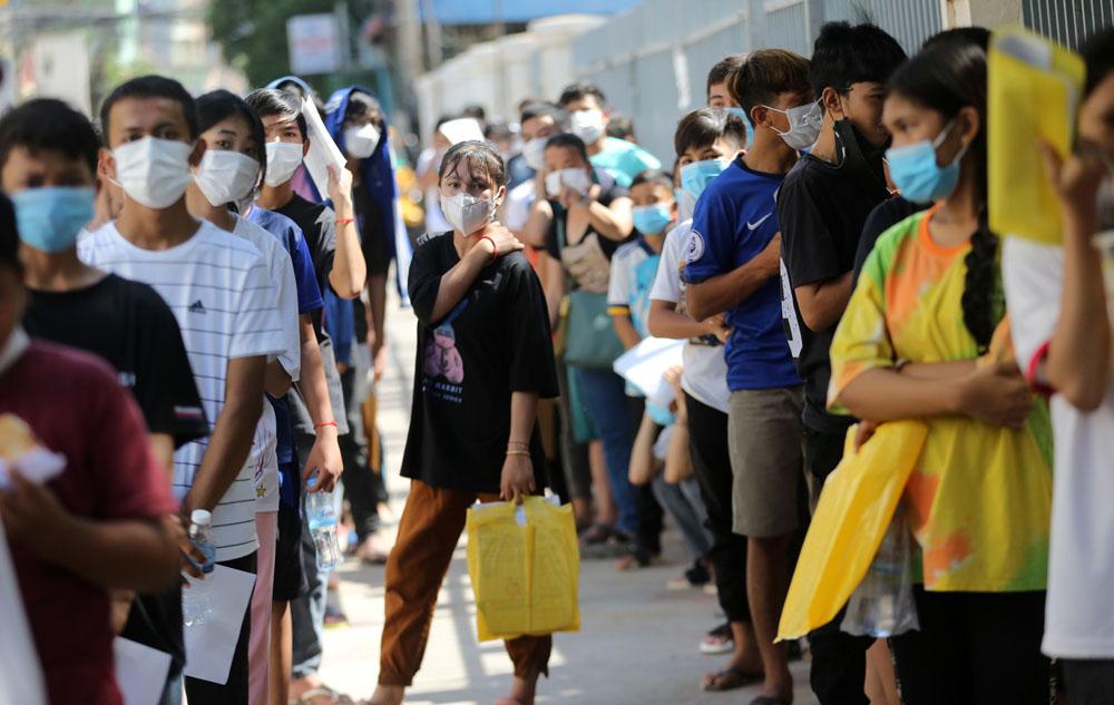 Trong kế hoạch của chính phủ Campuchia, sắp tới họ sẽ tiêm cho đối tượng là trẻ 11