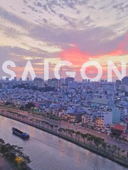 Hình ảnh Sài Gòn đẹp mắt kết thúc MV với nhiều niềm hy vọng cho tương lai
