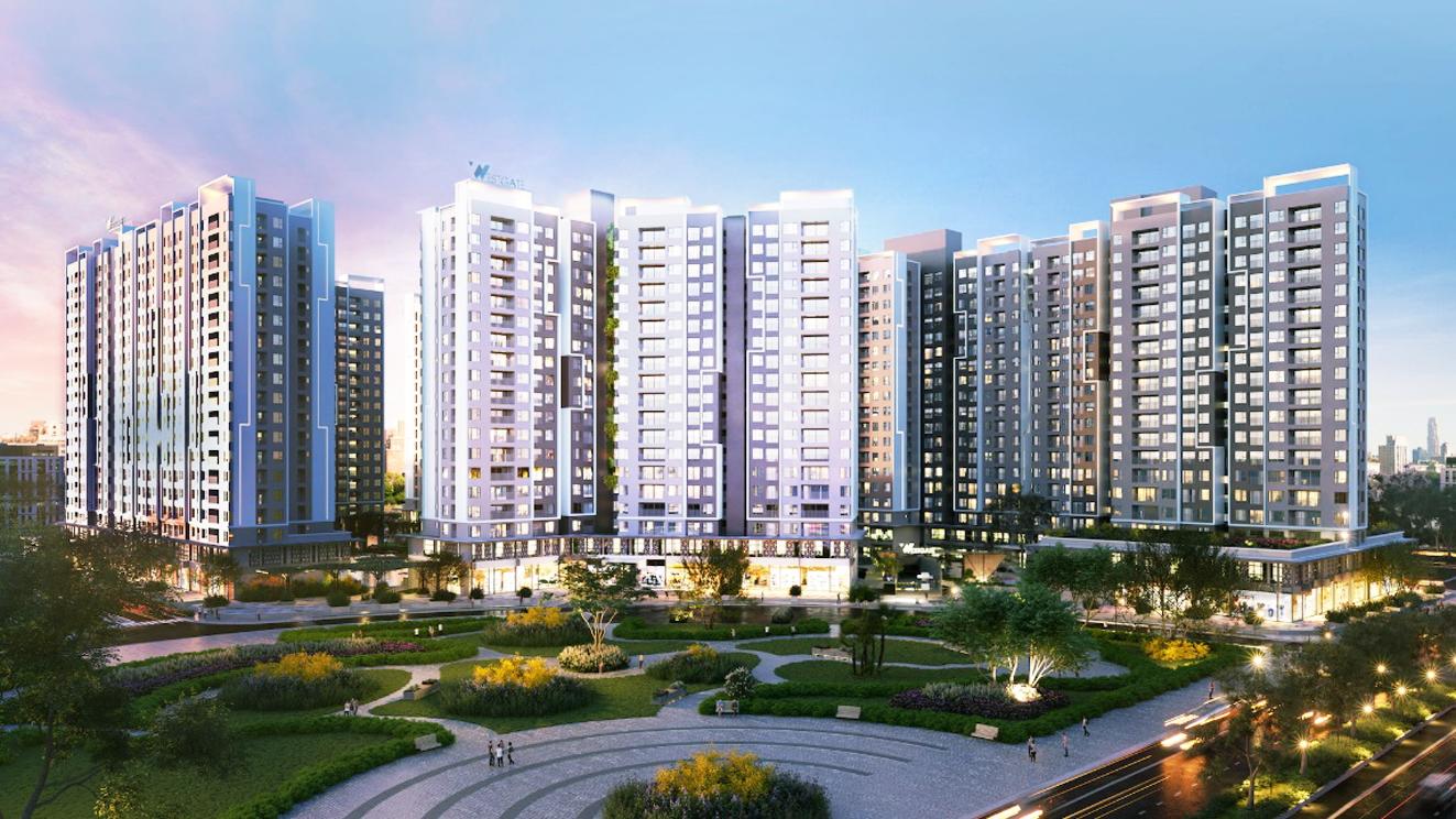 Tập đoàn bất động sản An Gia sở hữu danh mục dự án tiềm năng  (phối cảnh: dự án Westgate)