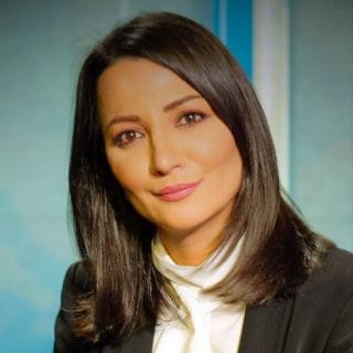 Nhà báo Ghada Oueiss