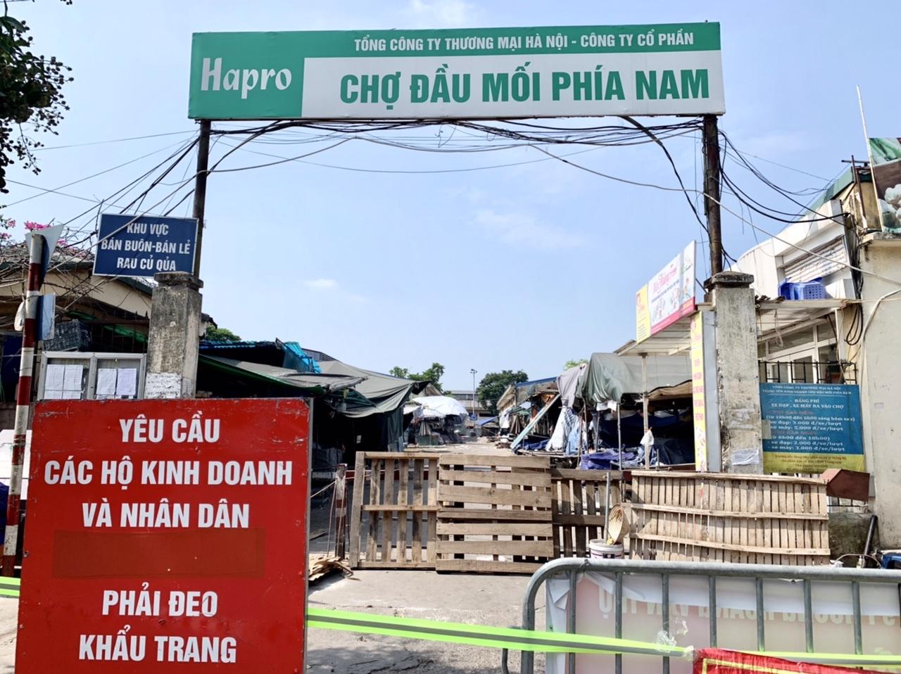 Sở Công thương đang rà soát các khu đất trống để di dời những chợ bị đóng cửa ra khu vực thông thống.