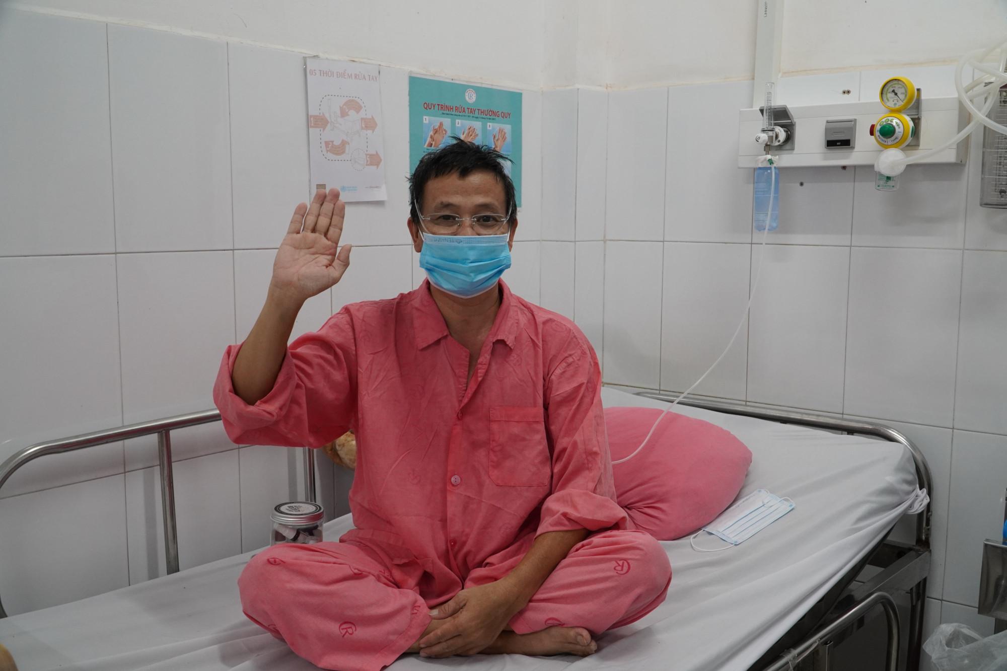 Cascadeur Lữ Đắc Long đã hồi phục sau khi điều trị COVID-19 tại BV Chợ Rẫy - Ảnh: BVCR