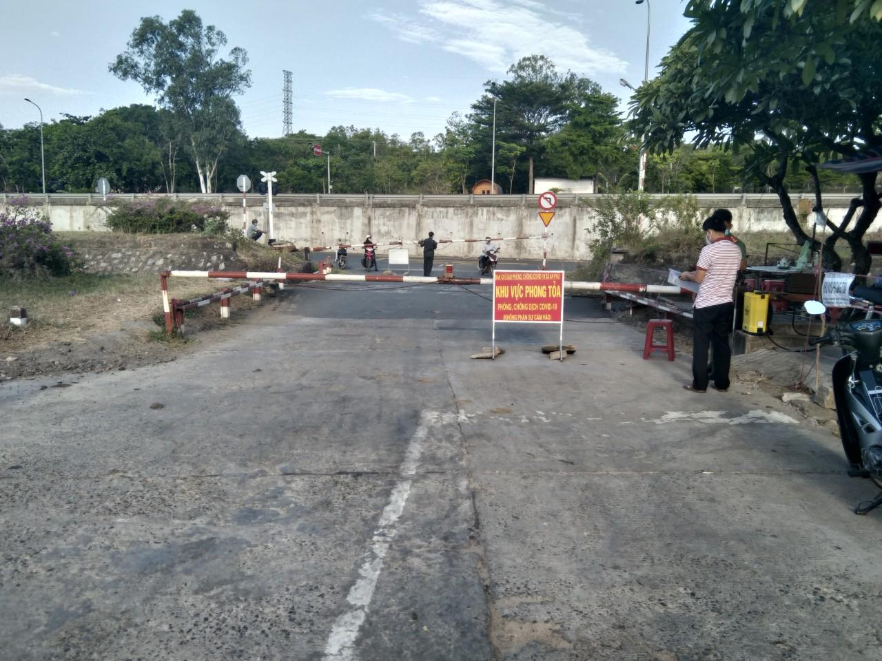Chốt chặn phòng chống COVID-19 Phú Yên