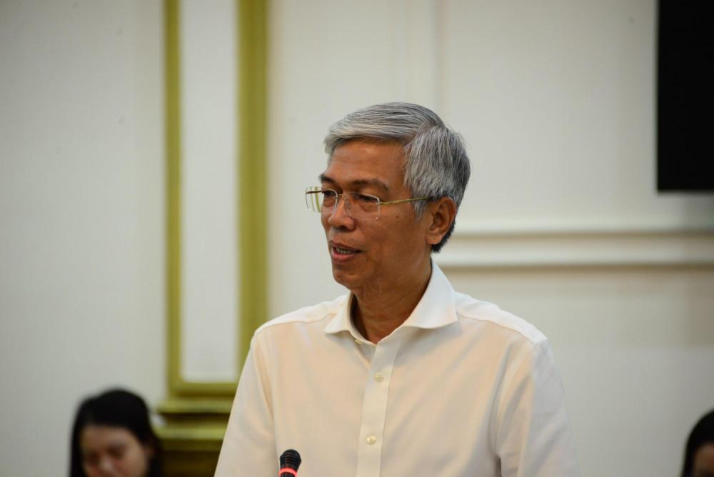 Phó chủ tịch UBND TPHCM Võ Văn Hoan yêu cầu các địa phương triển khai gói hỗ trợ, hoàn thành đến ngày 10/8