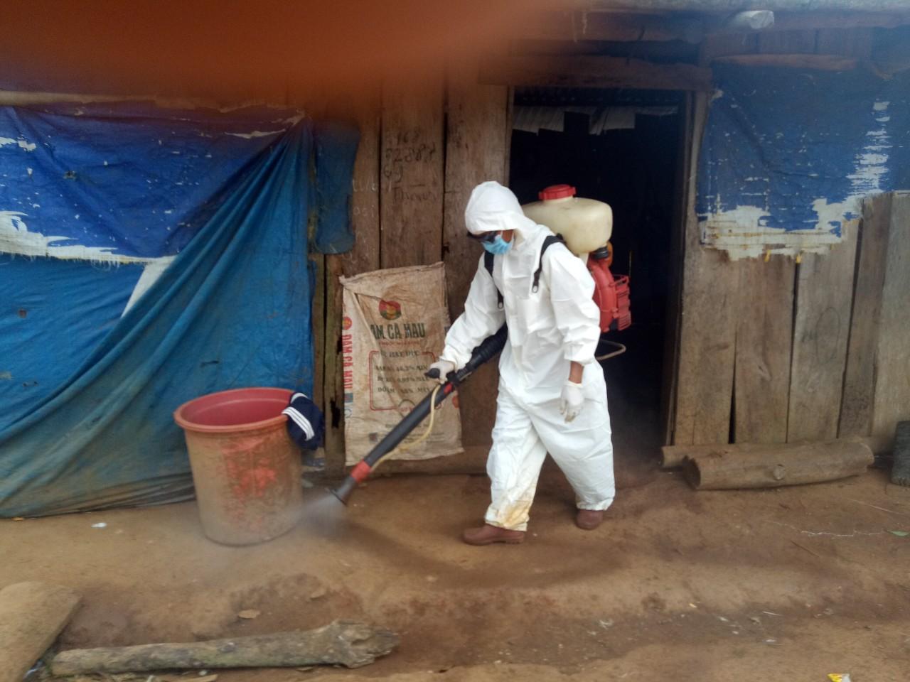 Tỉnh Đắk Nông ghi nhận 3 người trong 1 gia đình về từ vùng dịch dương tính với SARS-CoV-2