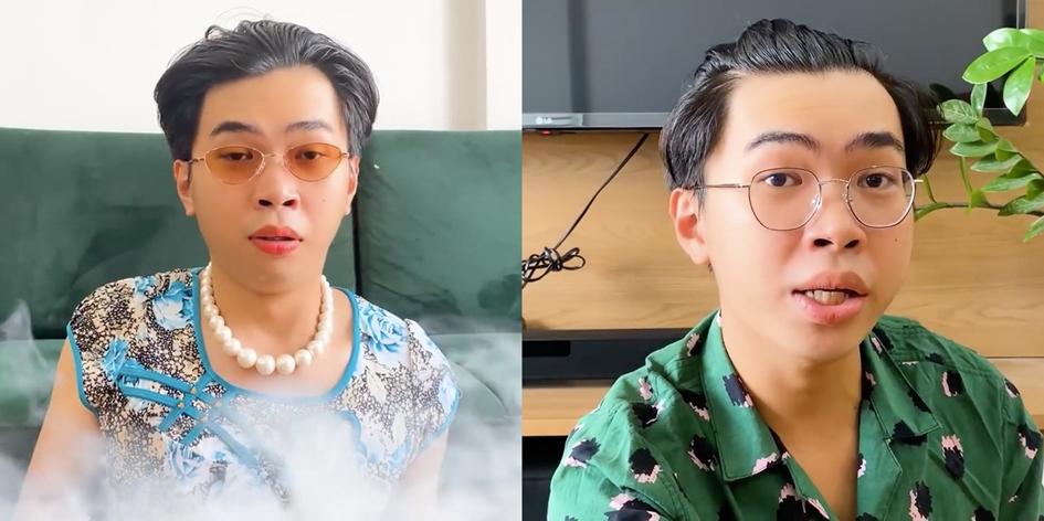 Minh Dự đóng hai vai trong video xem bói mùa dịch