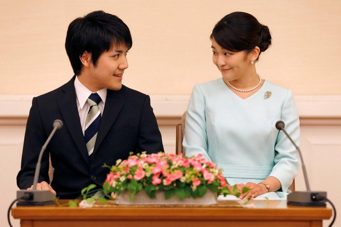 Công chúa Mako và bạn trai Komuro đã đính hôn không chính thức vào năm 2017