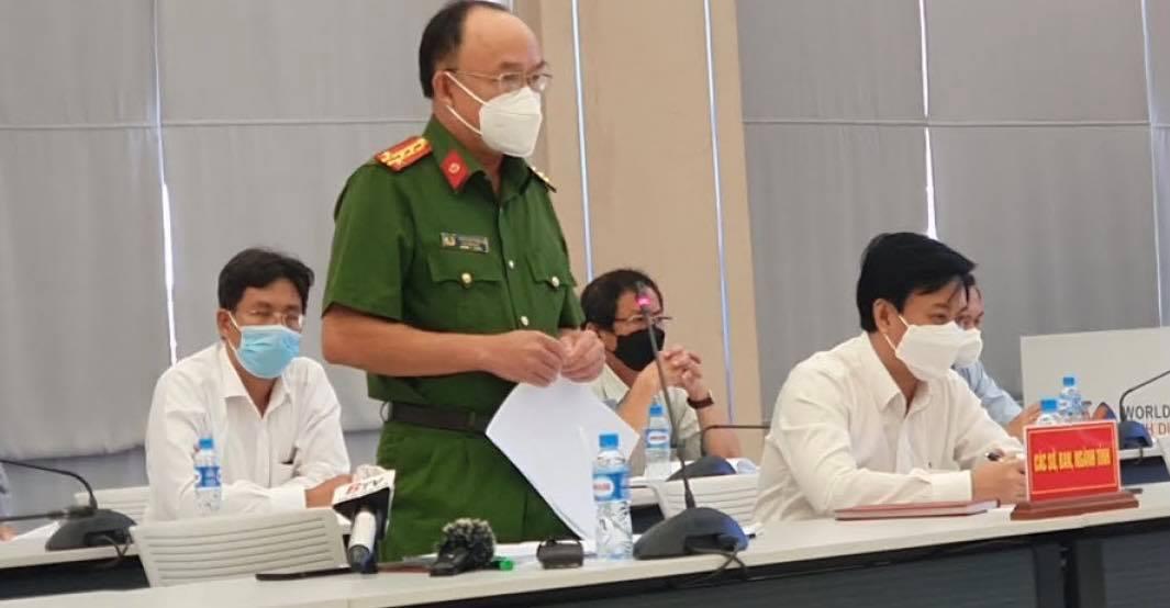 Đại tá Trần Văn Chính thông tin có 6 cơ sở y tế liên quan vụ từ chối cấp cứu khiến bệnh nhân tử vong