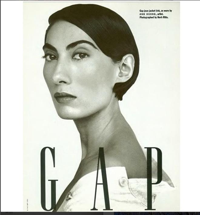 Năm 1991, bà được chọn làm gương mặt quảng bá cho một chiến dịch của GAP.