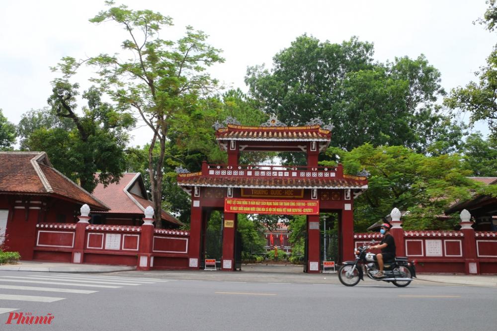 Trường Quốc học Huế.