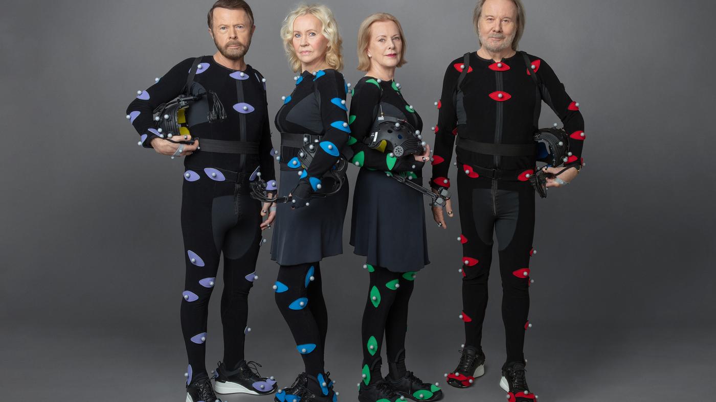 Hình ảnh nhóm ABBA cho ngày quay lại.