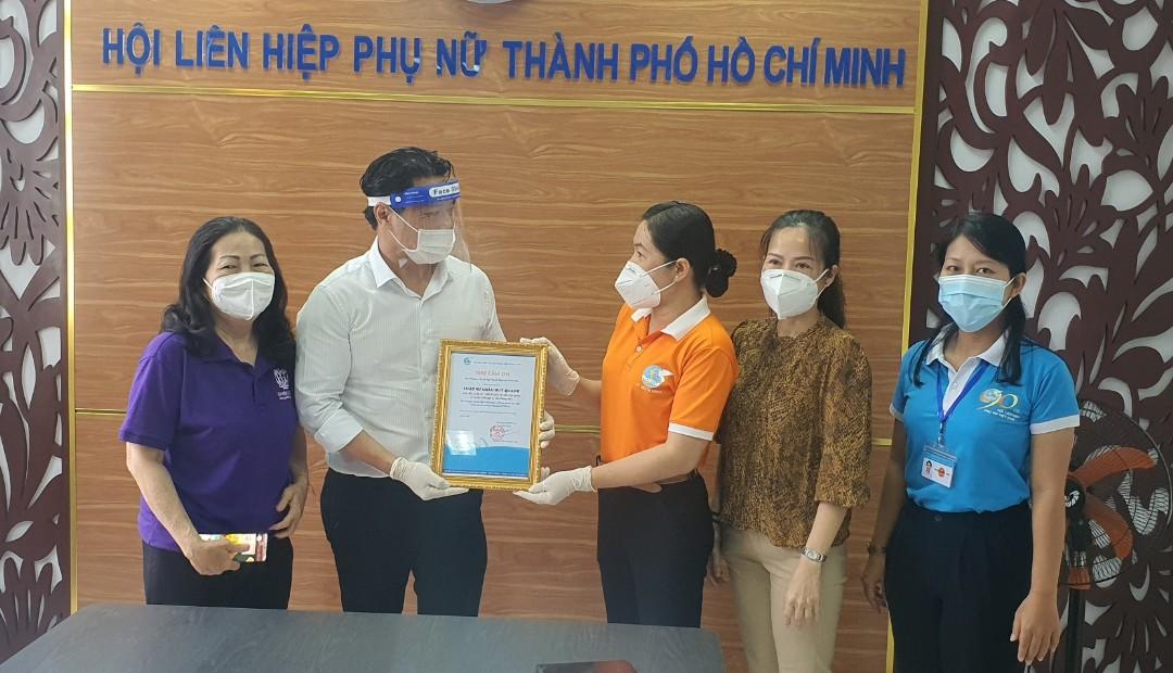 Hội LHPN TPHCM gừi thư cám ơn đến Chi hội Luật sư, các luật sư