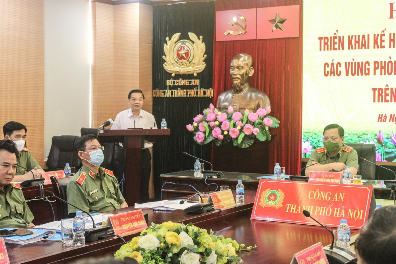 Chủ tịch Chu Ngọc Anh phát biểu tại Hội nghị.
