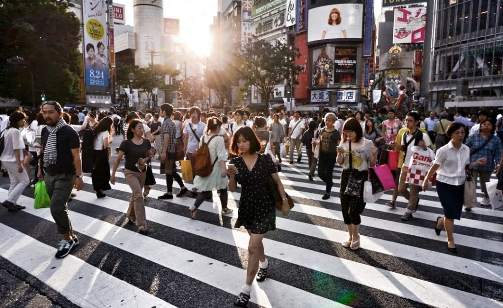 Người dân Nhật Bản có chế độ ăn uống lành mạnh và yêu thích vận động - Ảnh: getrealpundit