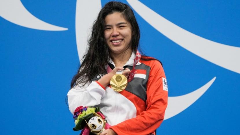 Yip Pin Xiu, đại biểu Quốc hội trẻ nhất Singapore, đã giành được hai huy chương vàng và lập kỷ lục thế giới ở môn bơi ngửa.