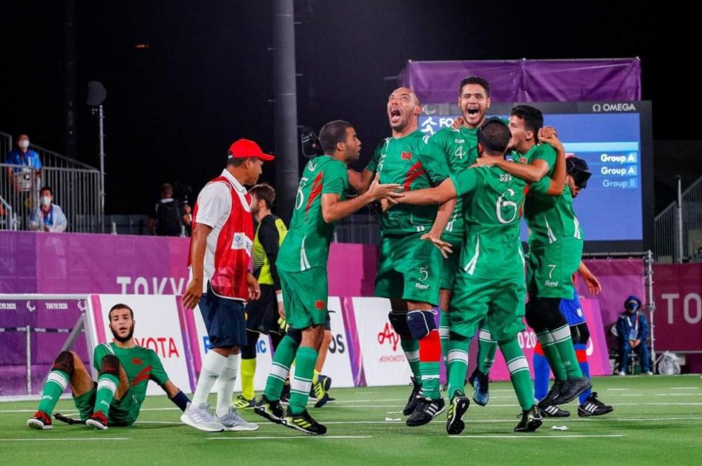 Đội bóng khiếm thị của Morocco là đội đầu tiên của châu Phi lọt vào bán kết.