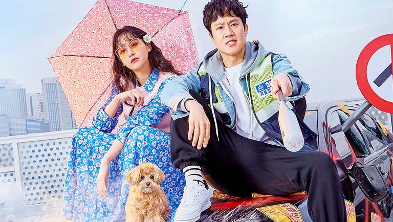 Oh Yeon Seo và Jung Woo trong phim.