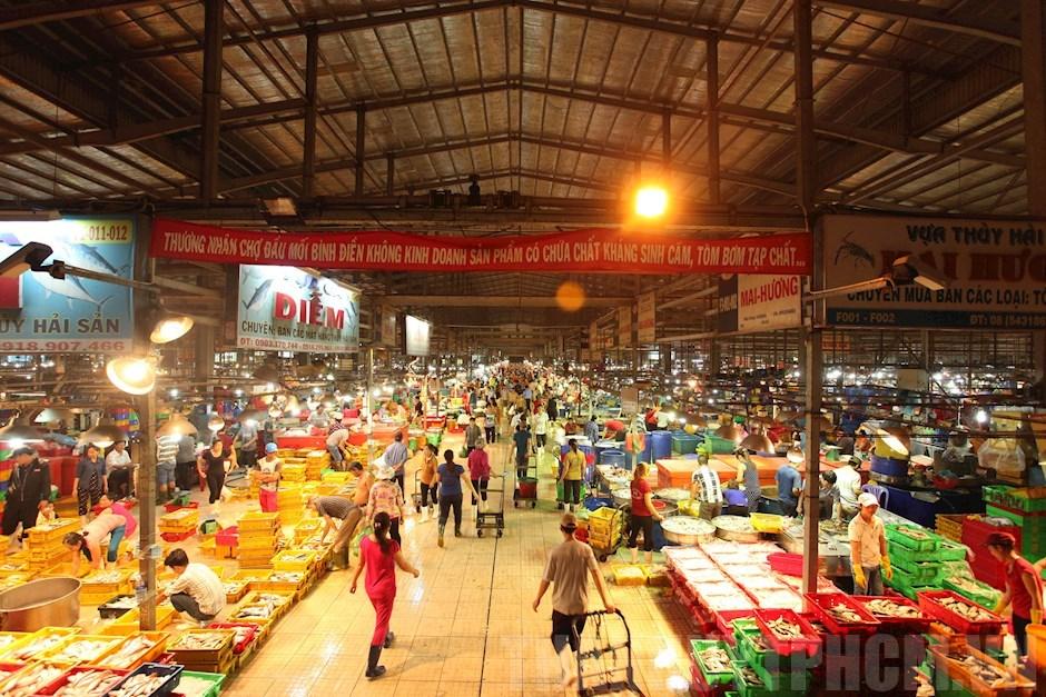 Dự kiến ngày 7/9 mở cửa chợ Bình Điền để trung chuyển thực phẩm