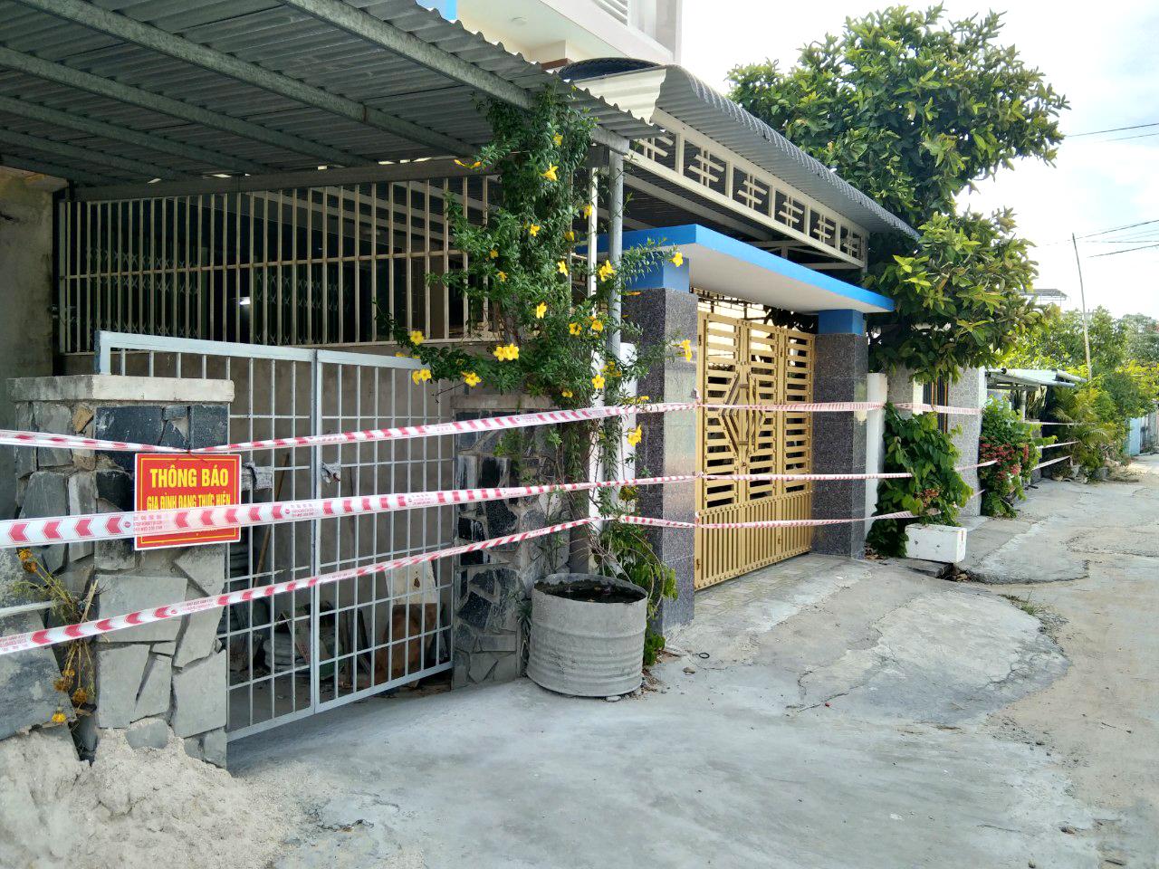 Khu phong tỏa ở TP Tuy Hòa, tỉnh Phú Yên
