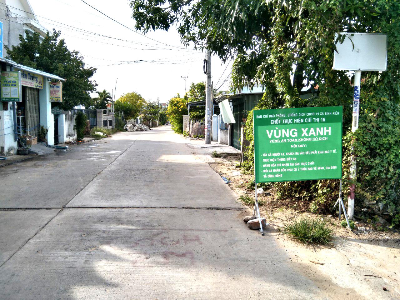 Thiết lập vùng xanh phòng chống lây nhiễm COVID-19 tại cộng đồng ở TP Tuy Hòa, tỉnh Phú Yên