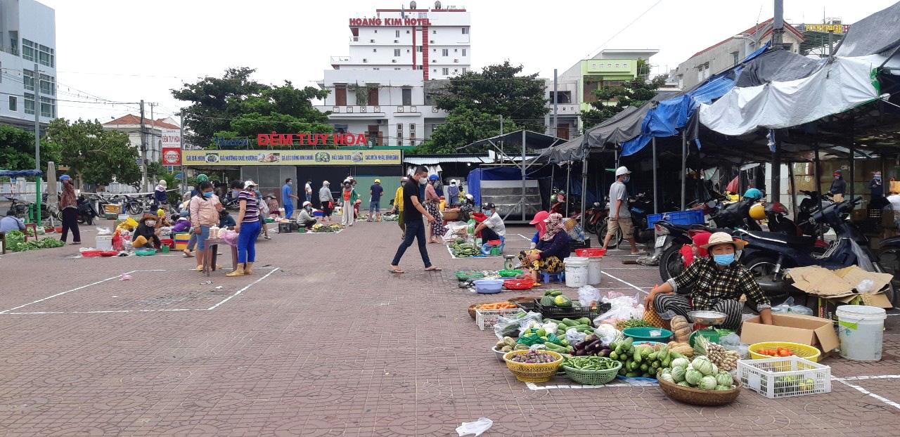 Chợ phường 7, TP Tuy Hòa, Phú Yên