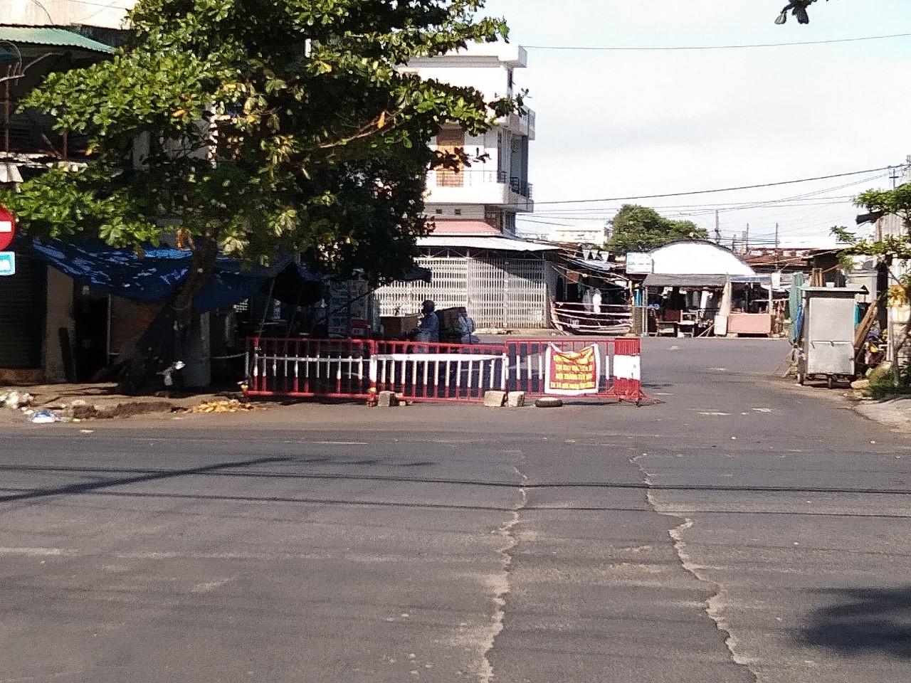 Khu vực phong tỏa ở TP Tuy Hòa, Phú Yên