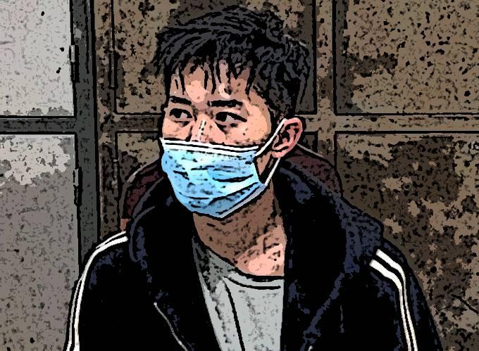 Phạm Thanh Tùng tại thời điểm bị bắt giữ