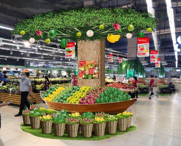 Tôn vinh hàng Việt, tại 20 siêu thị VinMart có không gian mua sắm lớn, nhóm sản phẩm nêu trên sẽ được trưng bày ở các khu vực riêng để khách hàng dễ dàng tìm hiểu và chọn lựa - Ảnh: Masan Group